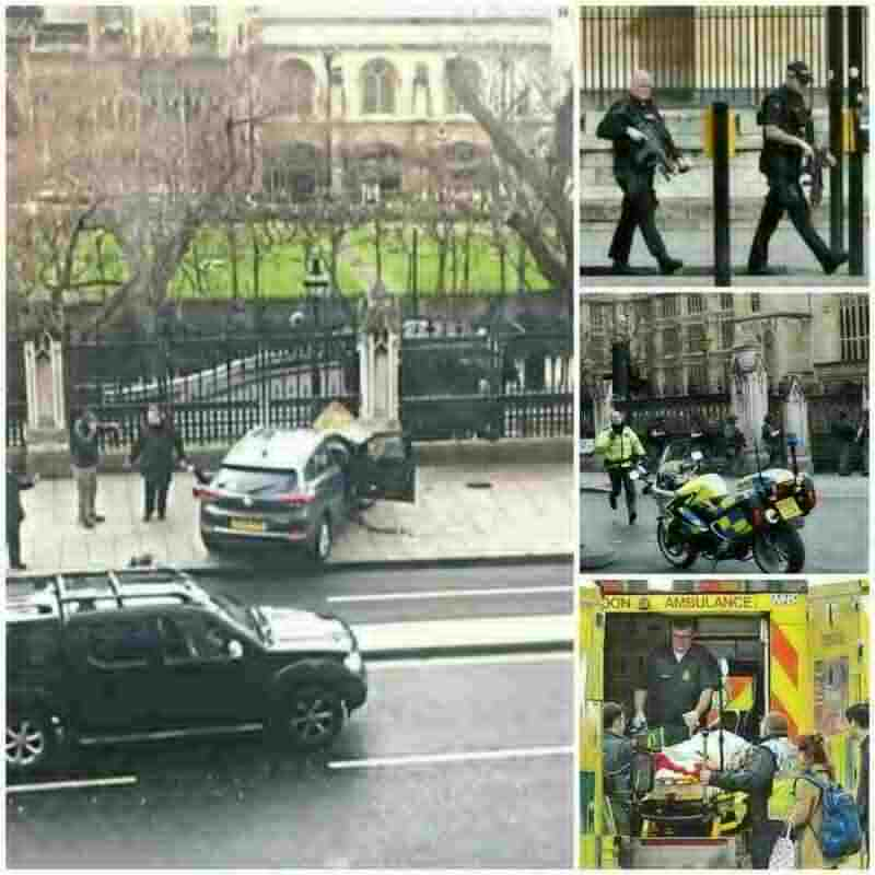 ब्रिटेन में संसद Britain Parliament Attack