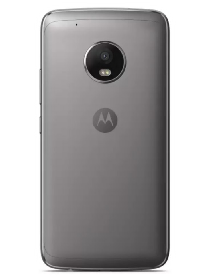 Moto G5 Plus Rear View