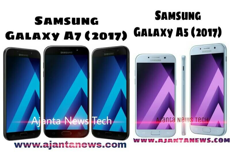 Samsung Galaxy A7 and Samsung Galaxy A5