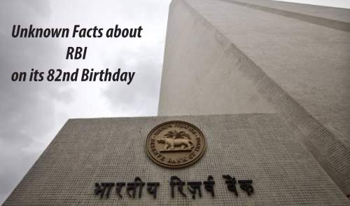 RBI on 82 Birthday