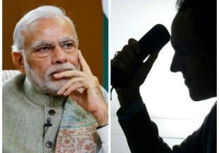 Unknown Caller for Killing Modi