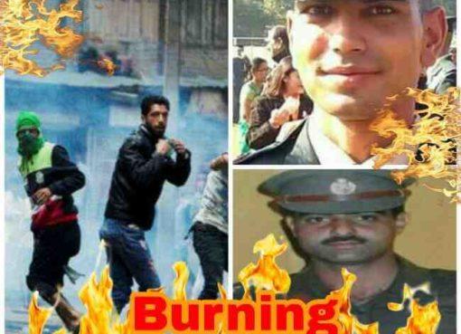 Burning Kashmir, Bleeding Kashmir, Ayub Pandith Mob Lynched