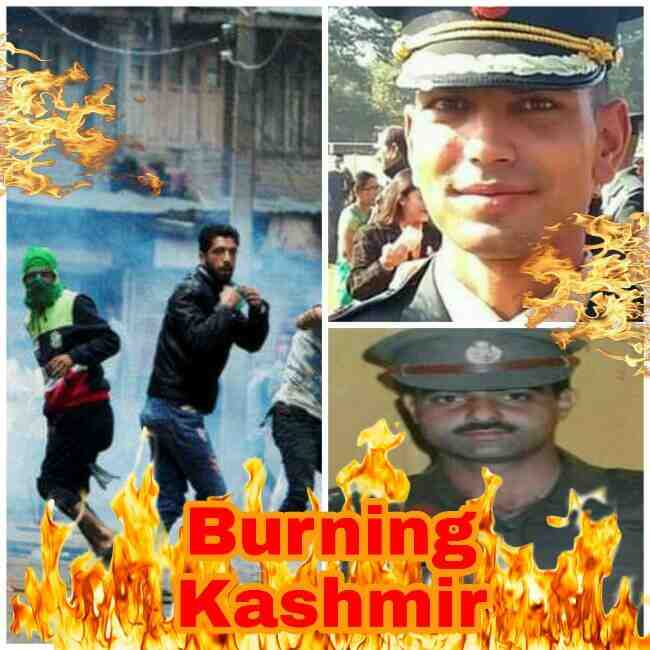 Burning Kashmir, Bleeding Kashmir, Ayub Pandith Mob Lynched