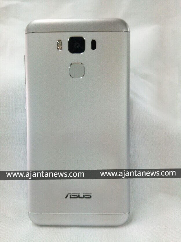 Back View of Asus Zenfone 3 Max
