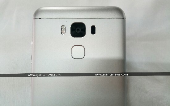 Closer View of Back of Asus Zenfone 3 Max