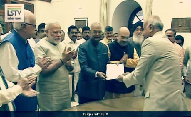 Ramnath Kovind, NDA Presidential Candidate Ram nath Kovind,