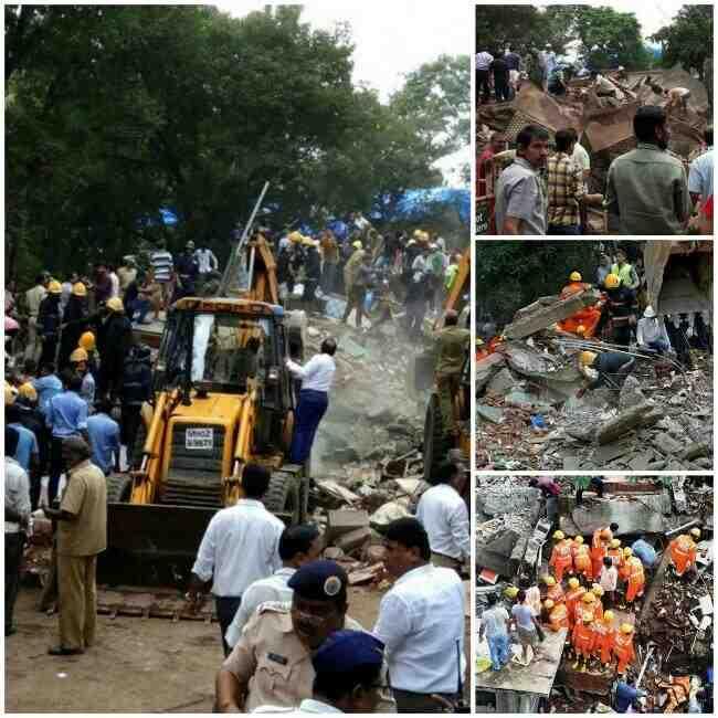 Ghatkopar Building Mishap, Ghatkopar Building Collapsed,