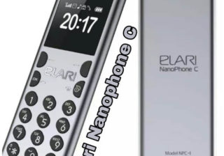 Nanophone C, Elri Nanophone C, Smallest Phone in the world, World's smallest phone in India,