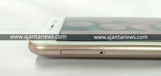 Left View of Asus Zenfone Live, Asus Zenfone Live Left View, Zenfone Live Left View