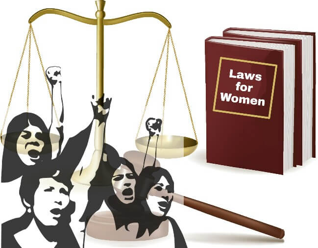 women laws in India, Indian Laws for Women, Women protection laws in india