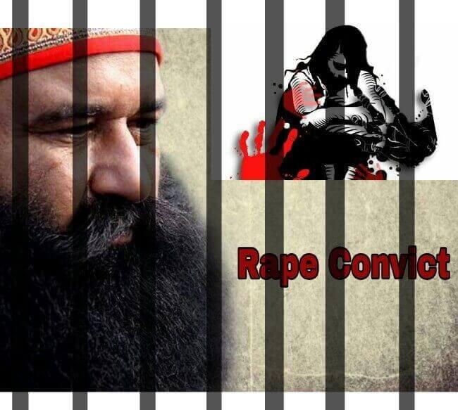 Ram Rahim Sentenced to Jail Imprisonment, Ram Rahim got Convicted and sentenced, Ram Rahim Jailed,