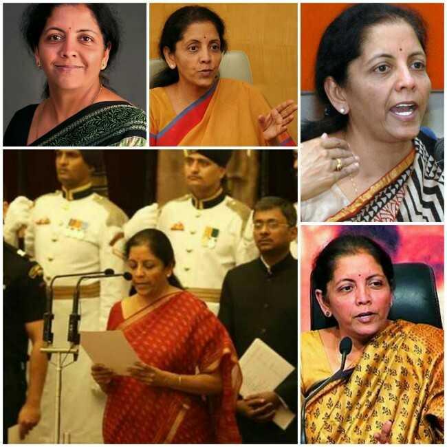 Nirmala Seetharaman Appointed as Defence Minister of India, Nirmala Seetharaman in Defence Ministry