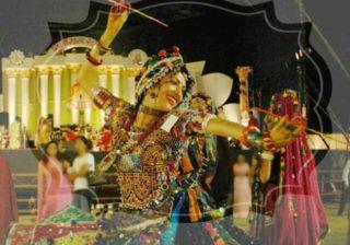 Garba and Dandiya during Navratri, Reason for Garba in Navratri,