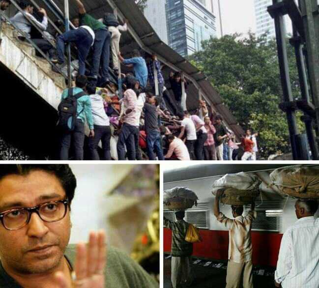 Raj Thackeray on Hawkers, Raj Thackeray against hawkers, Raj Thackeray's ultimatum to railway