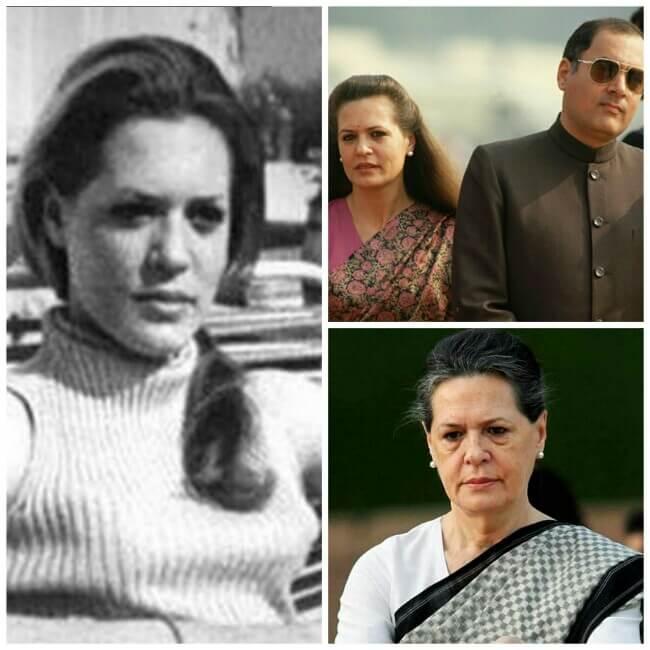 Life of Sonia Gandhi, Sonia Gandhi's Life, Sonia Gandhi in India,