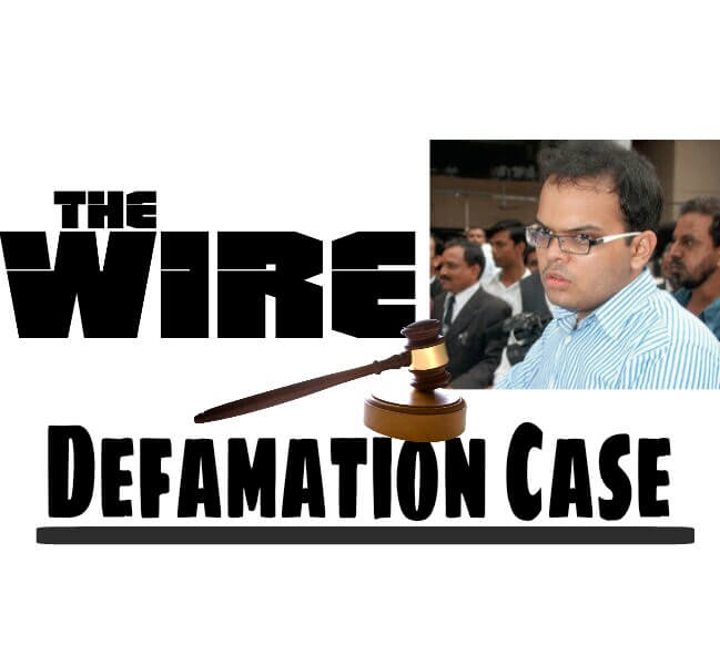 Jay Shah V/s The Wire, The Wire v/s Jay Shah, Amit Shah's Son against The Wire, Defamation Case against The wire, the wire challenged by Jay Shah