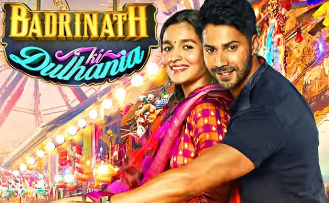 Badrinath Ki Dulhaniya Featuring Varun Dhawan, Varun Dhawan in Badrinath Ki Dulhaniya, Badrinath ki Dulhaniya Poster