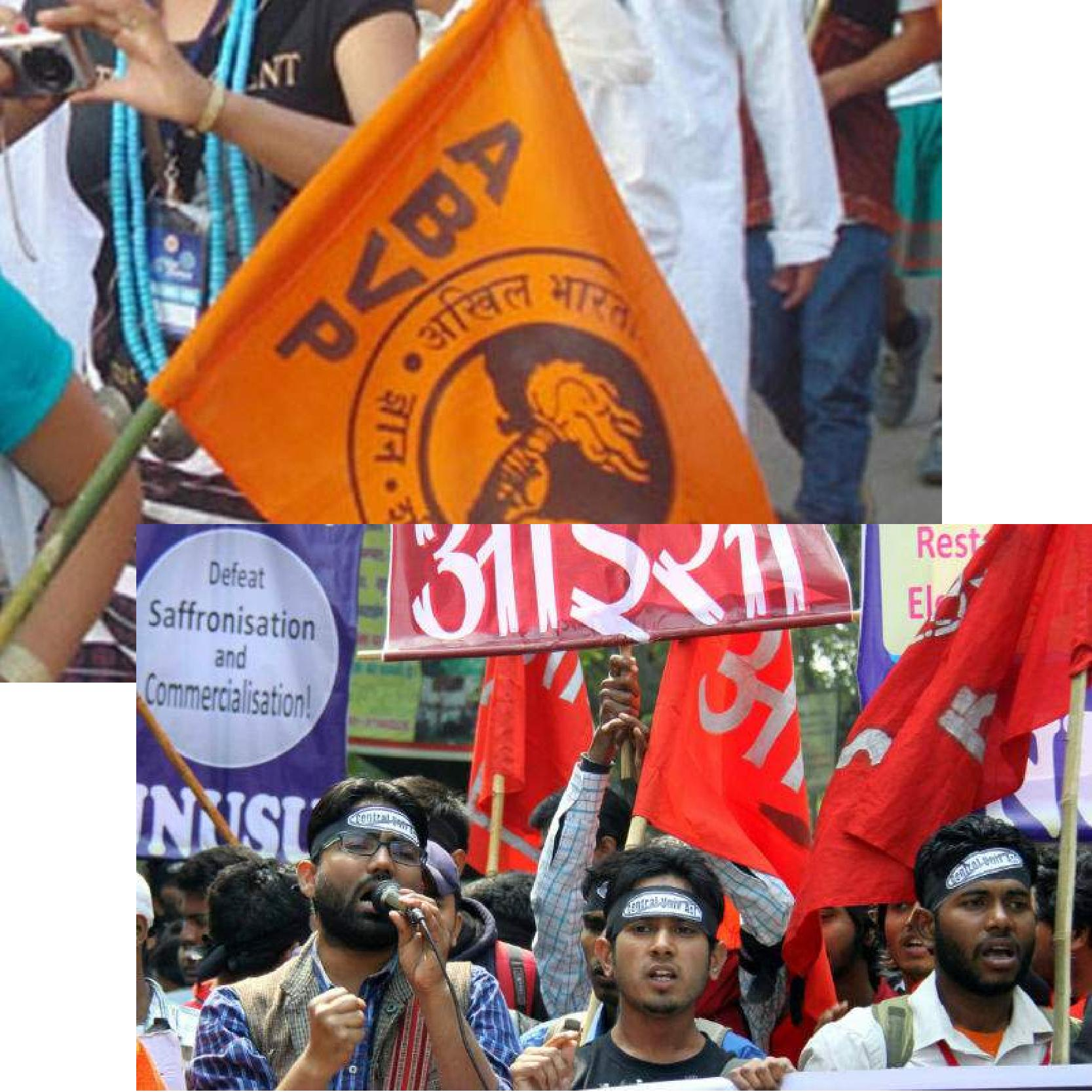 ABVP and AISA