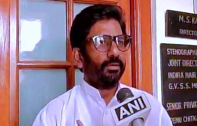 Ravindra Gaikwad with ANI