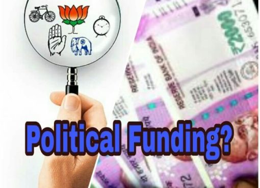 Political Funding, Political Funding in India