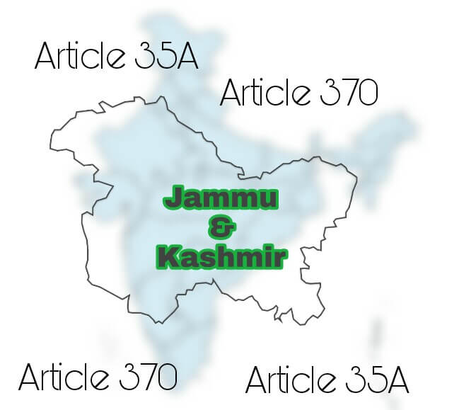 Article 370 & Article 35A in Jammu & Kashmir, Jammu & Kashmir due to Article 370 and Article 35A