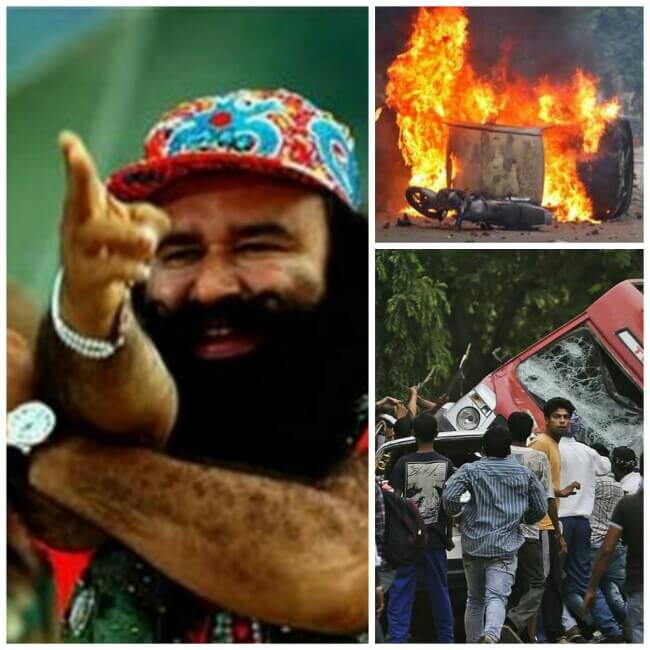Ram Rahim Singh Conivtion and the damage, Ram Rahim Singh found guilty in the rape case