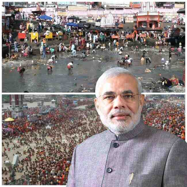 Namami Ganga Project by Narendra Modi