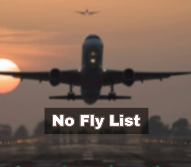 No-fly List by Aviation Department, Aviation Department's Aviation Department