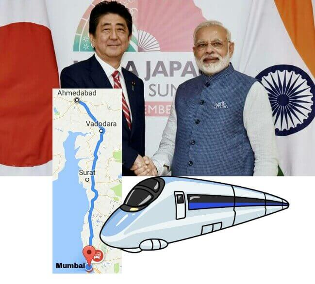 High Speed Rail Project in India, Japan and India collaborate for Bullet Train in India, Indian Bullet Trains, Mumbai Ahmedabad Bullet Train