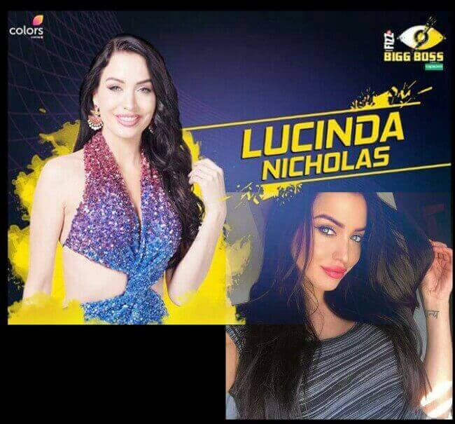 Lucinda Nicholas in Big Boss, Lucinda Nicholas compared with Katrina Kaif