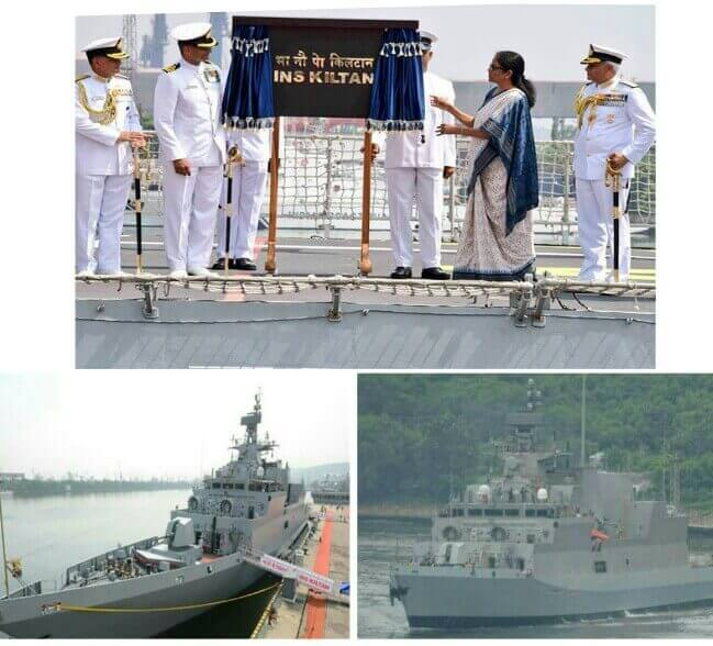 INS Kiltan Commissioned, INS Kiltan Deployed, Indian Navy's INS Kiltan