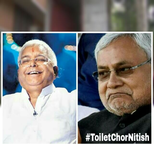 #ToiletChorNitish Trends on Twitter, ToiletChorNitish story,