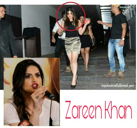 Zareen Khan Molested in Delhi, Zareen Khan film promotion in Delhi, Zareen Khan molestation, Zareen Khan misbehaved with