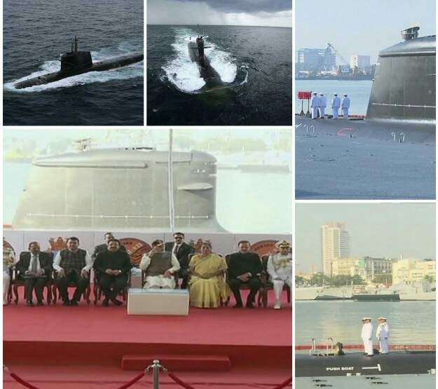 INS Kalvari Commissioned, INS Kalvari Indian Navy, Indian Navy Submarine