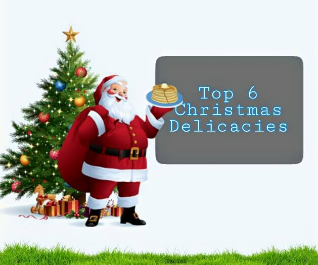 christmas delicacies, Christmas foods, christmas special foods,