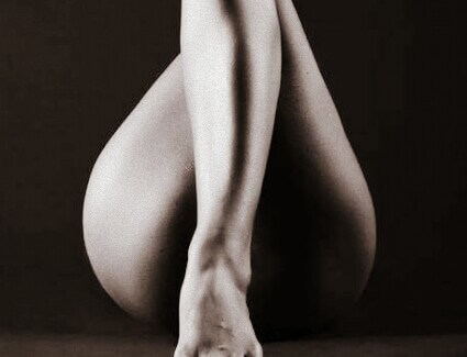 Sexy Woman's Legs, Legs of woman, covered vagina with legs