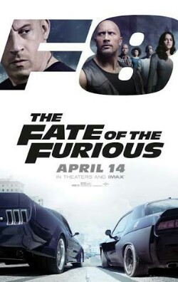 The Fate of the Furious Poster, The Fate of the Furious