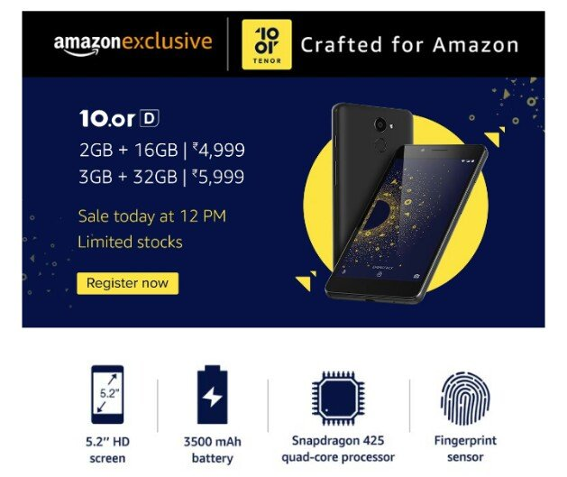10.or D on Amazon Sale, 10.or D exclusive Amazon sale,