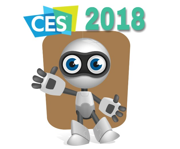 Robots at CES 2018, Robots exhibition at CES 2018, CES 2018 for robots
