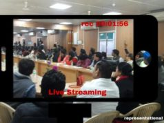 AAP for live streaming Meeting, Livestream meeting between aap and beurocrats,