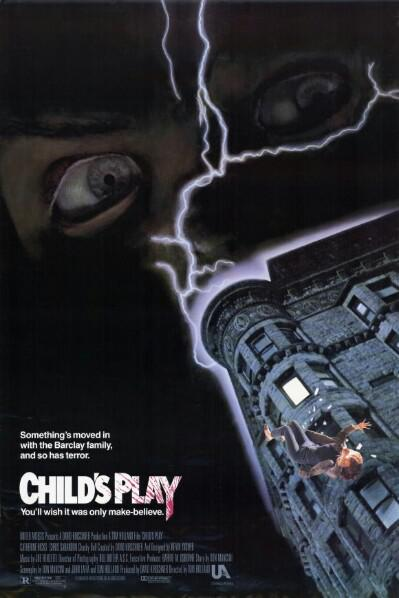 Child's Play, Child's Play poster, Child's Play slasher movie