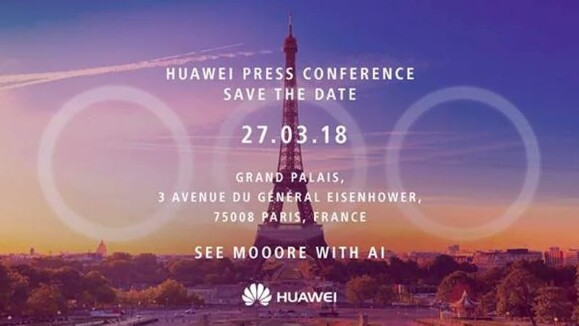 Huawei P20 Launch Press Invite, Huawei Press Conference in Paris