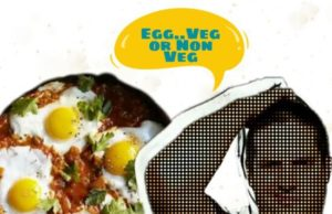 Egg veg non veg, eggetarian veg non veg, egg facts, egg veg facts