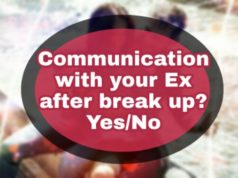 Communication After Break up, Post Break up contacts
