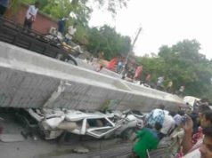 Varanasi Bridge Mishap, Varanasi Accident news, varanasi bridge collapse
