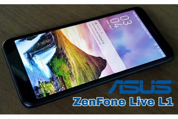 Zenfone Live L1, Latest Android Go asus phone, asus latest smartphone, indonesia asus launch may 2018