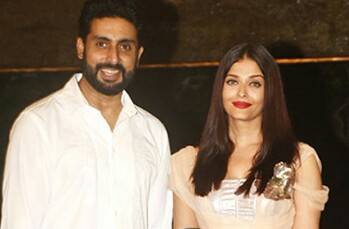 ABHISHEK BACHCHAN AND AISHWARYA RAI BACHCHAN, cute bollywood couples, popular bollywood couples, bollywood loving couples