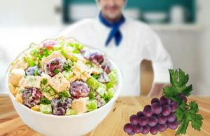chicken salad, Chicken Salad with Grapes