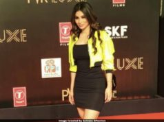 Mouni Roy plastic surgery, plastic surgery rumor of mouni Roy, mouni Roy at Bharat premiere