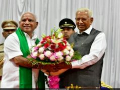 Yediyurappa sworn in as Karnataka Chief Minister, 2019 Karnataka Chief Minister, horse trading in Karnataka